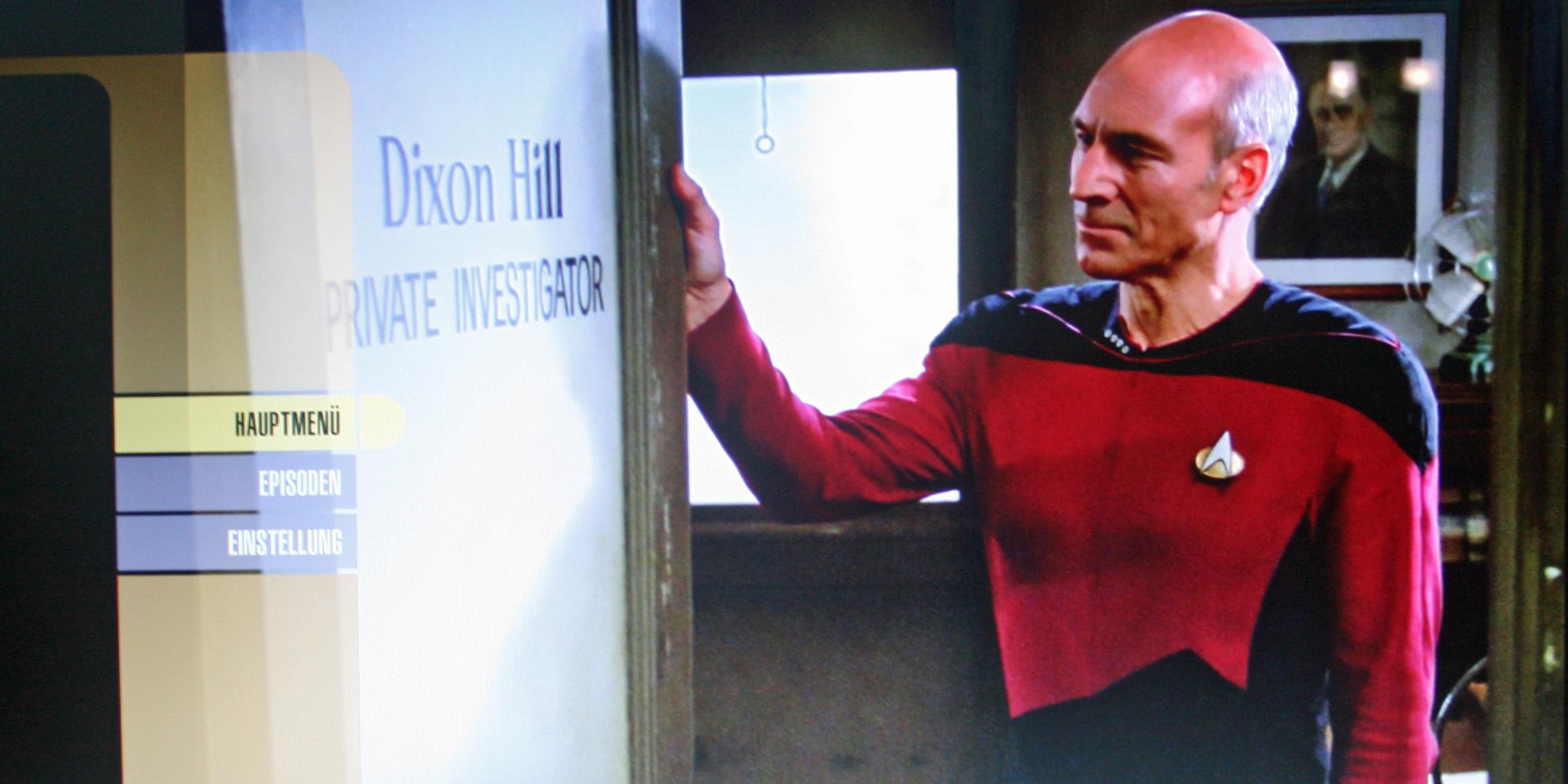 Star Trek: The Next Generation Season - Blu-ray Popup-Menü